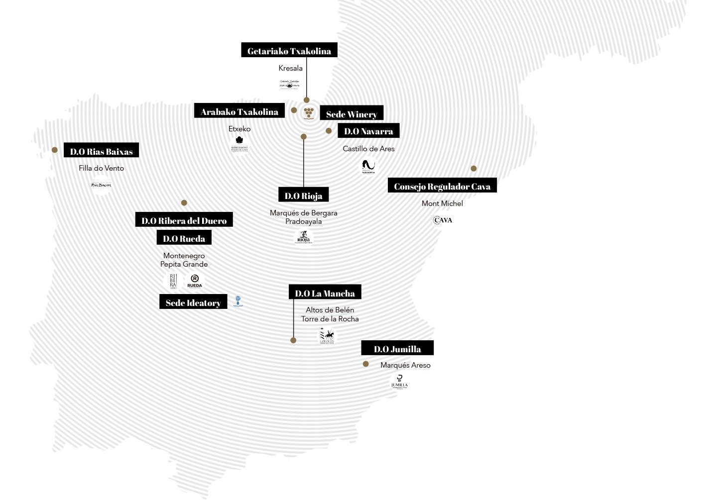 Mapa - Bodegas Elosegui